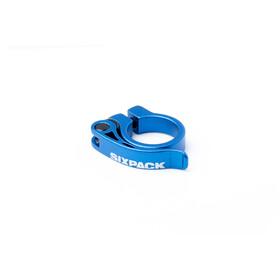 Sixpack Menace Sattelklemme Ø31,8mm blau